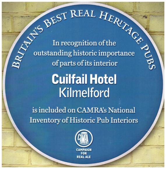 Recorded in CAMRA's National Inventory of Historic Pub Interiors